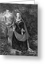 Mary Queen Of Scots Greeting Card by Photo Researchers