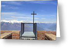 Monte Tamaro Greeting Card by Joana Kruse