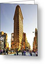 New York Greeting Card by Svetlana Sewell
