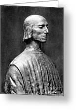 Niccolo Machiavelli Greeting Card by Granger