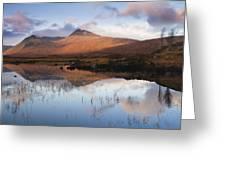 Rannoch Moor At Sunrise Greeting Card by Gabor Pozsgai