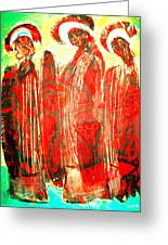 3 Saints Greeting Card by Andrew Osta
