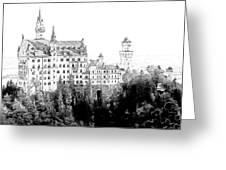 Schloss Neuschwanstein Germany Greeting Card by Joseph Hendrix