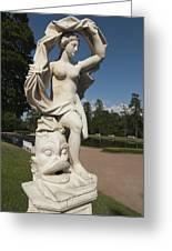 Sculpture Greeting Card by Igor Sinitsyn