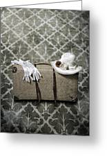 Suitcase Greeting Card by Joana Kruse