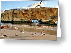 Two Rocks Wa Greeting Card by Imagevixen Photography