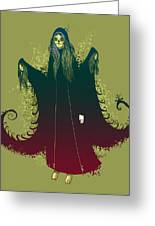 3 Witches Greeting Card by Michael Myers