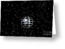 Planet Greeting Card by Odon Czintos