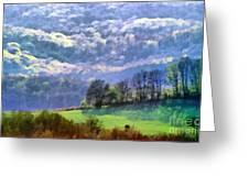 Landscape Greeting Card by Odon Czintos