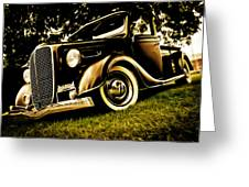 37 Ford Pickup Greeting Card by Phil 'motography' Clark
