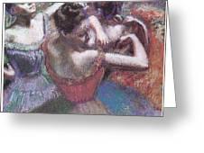 Dancers Greeting Card by Edgar Degas
