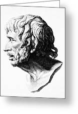 Lucius Annaeus Seneca Greeting Card by Granger