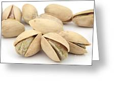Pistachios Greeting Card by Blink Images