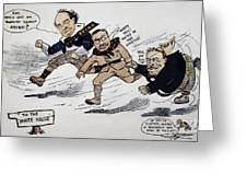 Presidential Campaign 1908 Greeting Card by Granger