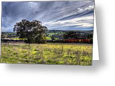 Rural Australia Greeting Card by Imagevixen Photography