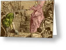 Sir Francis Drake, English Explorer Greeting Card by Photo Researchers