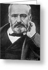 Victor Hugo, French Author Greeting Card by Photo Researchers