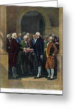Washington: Inauguration Greeting Card by Granger