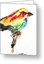 Untitled Greeting Card by Iris Gill