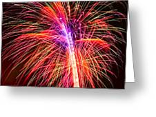 4th Of July - Independence Day Fireworks Greeting Card by Gordon Dean II