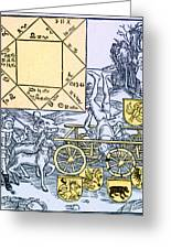 Astrology Greeting Card by Science Source