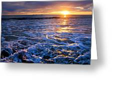 Burns Beach Greeting Card by Imagevixen Photography
