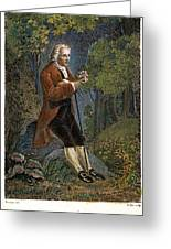 Jean-jacques Rousseau Greeting Card by Granger