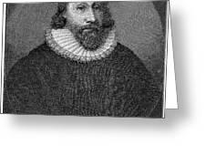John Winthrop (1588-1649) Greeting Card by Granger