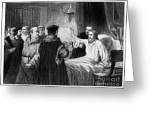 John Wycliffe (1320?-1384) Greeting Card by Granger