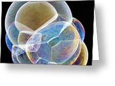 Soap Bubbles Greeting Card by Lawrence Lawry