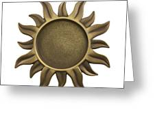 Sun Star Greeting Card by Blink Images