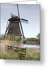 Mills In Netherlands Greeting Card by Andre Goncalves