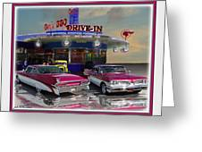 59 Pontiac Greeting Card by John Breen