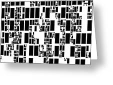 Abstract Computer Artwork Greeting Card by Mehau Kulyk