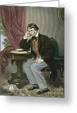 Charles Sumner (1811-1874) Greeting Card by Granger