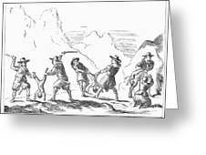 Persecution Of Waldenses Greeting Card by Granger