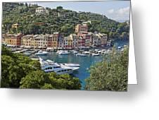 Portofino Greeting Card by Joana Kruse