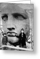 Statue Of Liberty, 1885 Greeting Card by Granger
