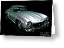 61 Mercedes Greeting Card by Jerry L Barrett