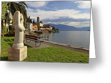 Brissago - Ticino Greeting Card by Joana Kruse