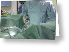 Endoscopy Greeting Card by Mr Gordon Muirtony Mcconnell