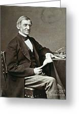 Ralph Waldo Emerson Greeting Card by Granger