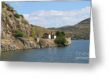 Douro River Valley Greeting Card by Arlene Carmel