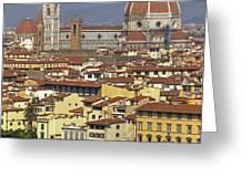 Florence Greeting Card by Joana Kruse
