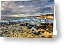 Point Peron WA Greeting Card by Imagevixen Photography