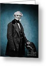 Samuel Morse, American Inventor Greeting Card by Science Source