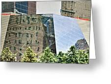 9/11 Memorial Greeting Card by Gwyn Newcombe