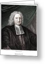 Edmond Halley, English Polymath Greeting Card by Science Source