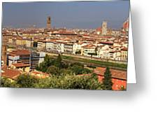 Florence Greeting Card by Joana Kruse