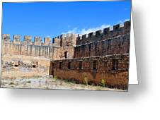Frangocastello Castle. Greeting Card by Fernando Barozza